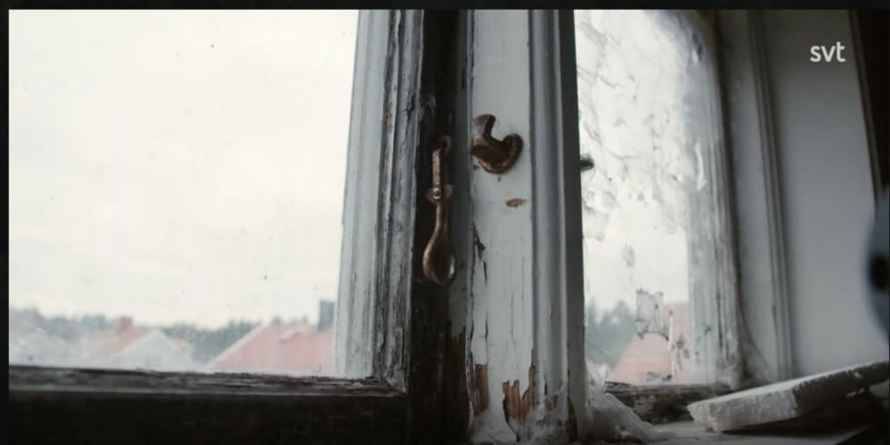 Fönstren visar sig vara i dåligt skick.