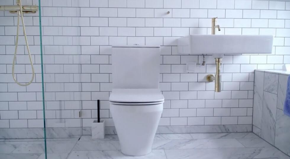 Detaljer i badrum