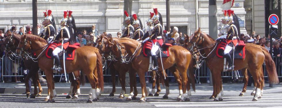 Franska kavalleriet