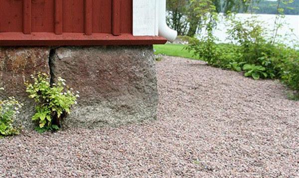 sten till grusgång