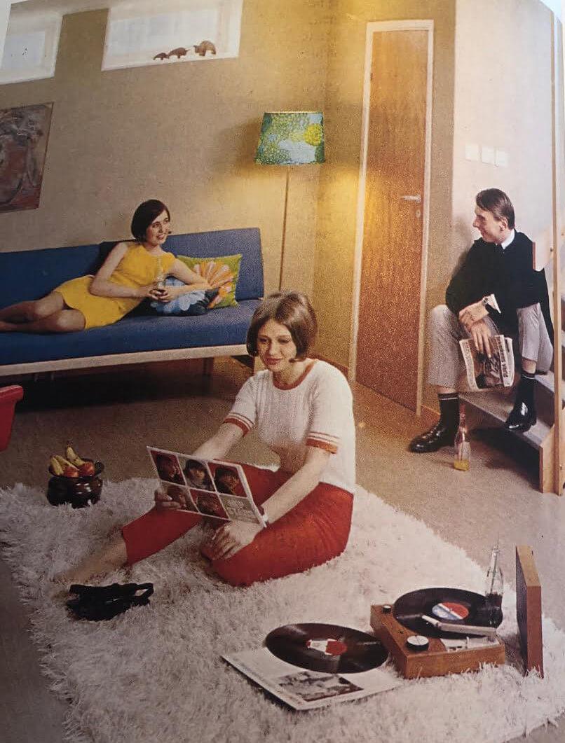 Inredning 60-talet