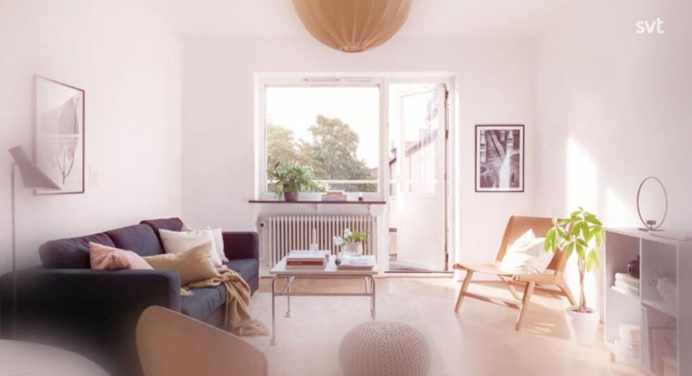 Sofie homestylar en lägenhet