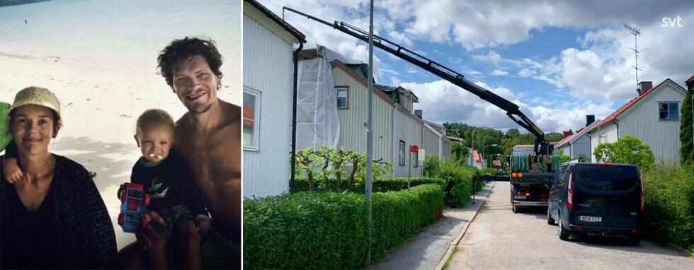 Totalrenoverar 30-talshus på Enskedefältet