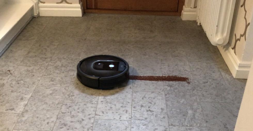 Roomba 980 är intelligent och har ett starkt sug.