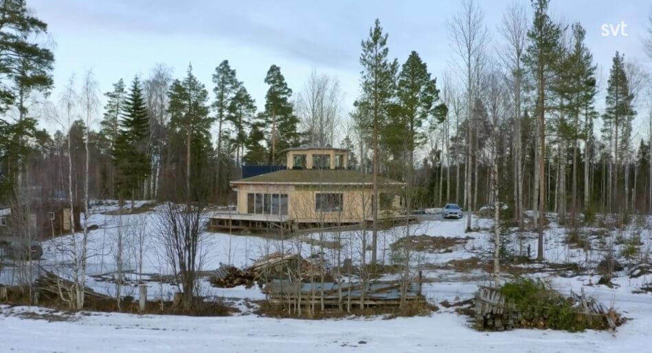Åttakantiga huset klart