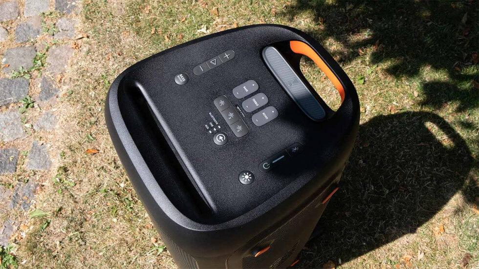 JBL Partybox 310 kontroller