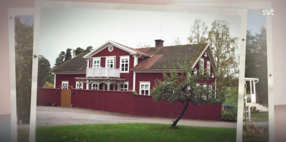Ett av husen de renoverat tidigare