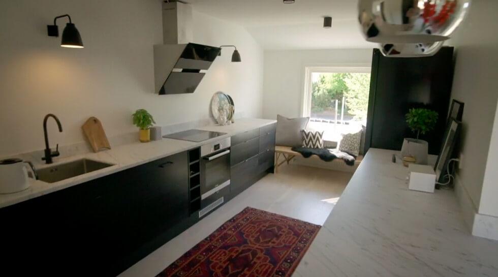 Köket går i svart