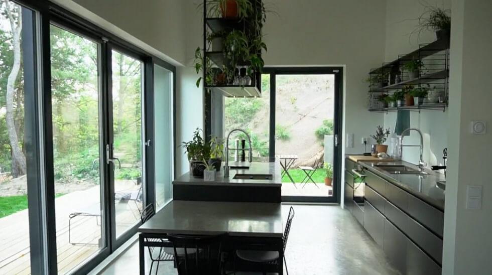 Köket i svart