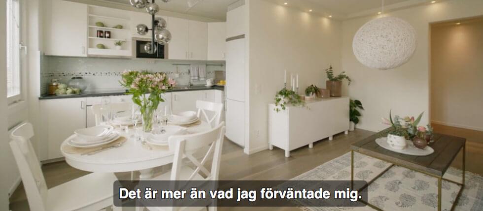 Lägenheten klar