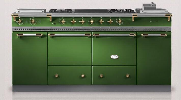 Lacanche Cluny 1800, grön
