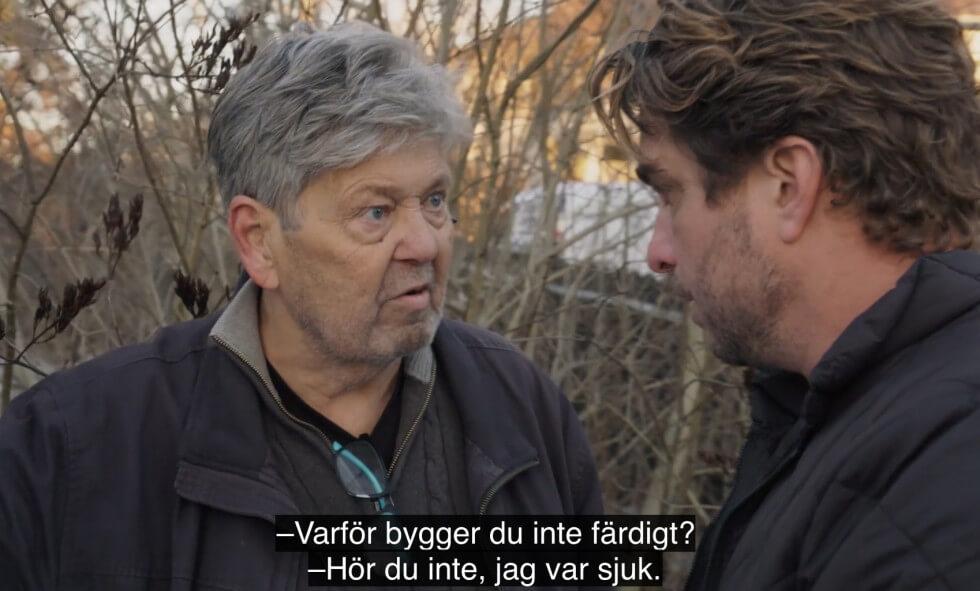 Lennart skyller bygge på sjukdom