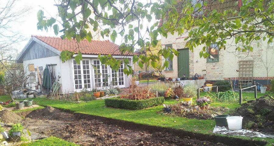 Orangeri byggt av Louise