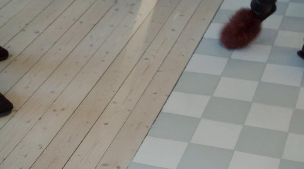 Möte golvmaterial