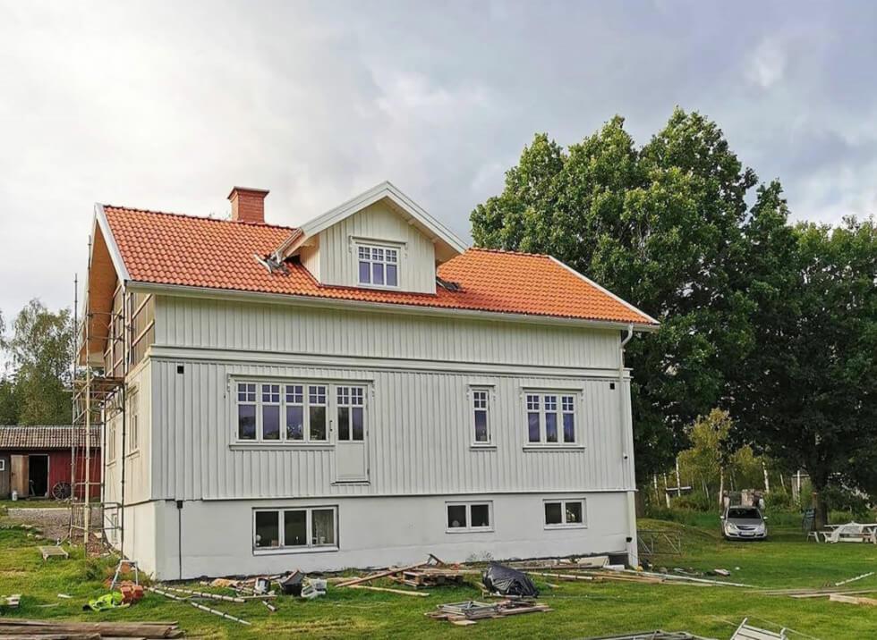 Hus efter taklyft
