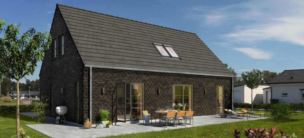 Ett 1,5 planshus på 137 kvadratmeter