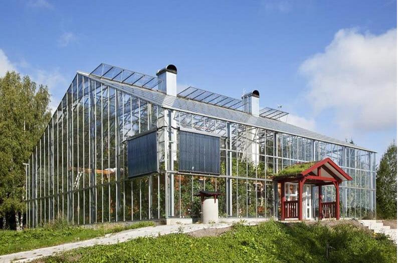 Bostad i växthus