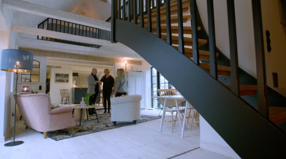 Nedervåningen klar