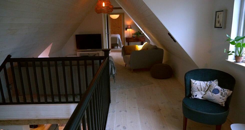 Övervåningen klar
