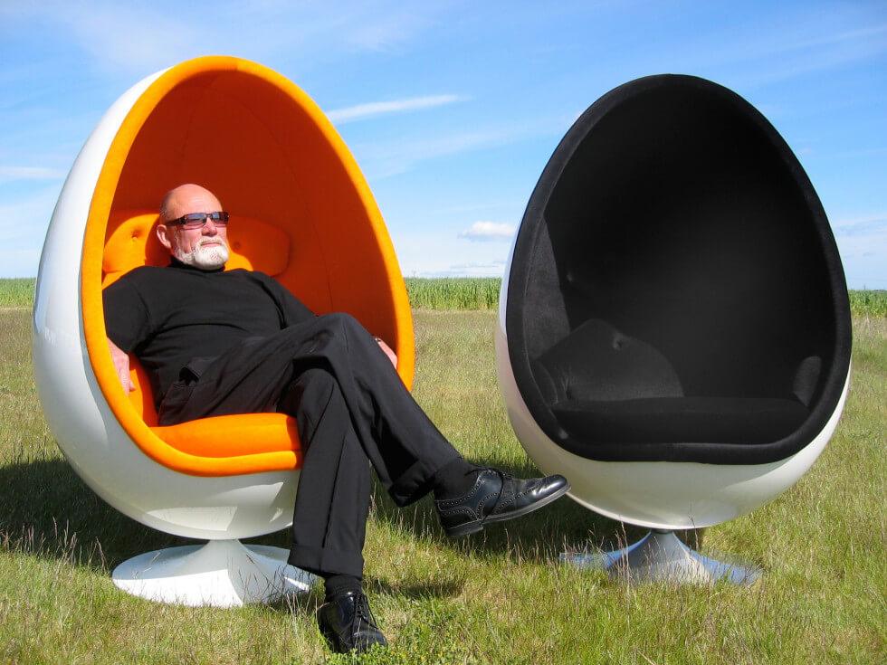 Ovalia Egg Chair från 1968