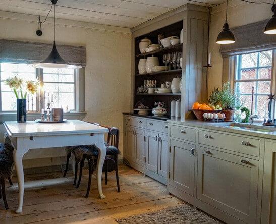 Platsbyggt kök från Kompetens i trä