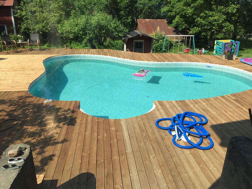 Pool med liner