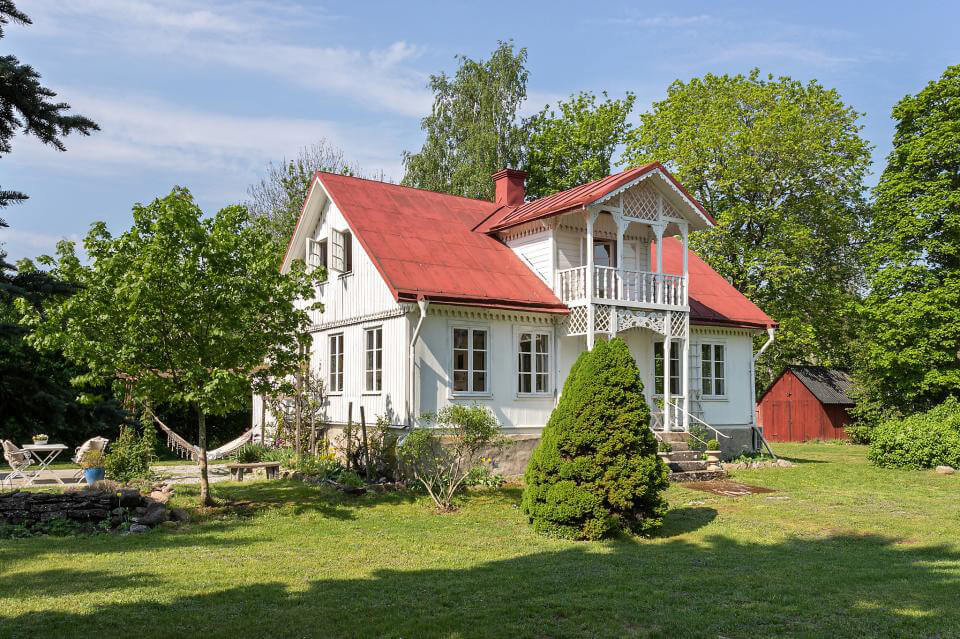 Prästgård på Gotland