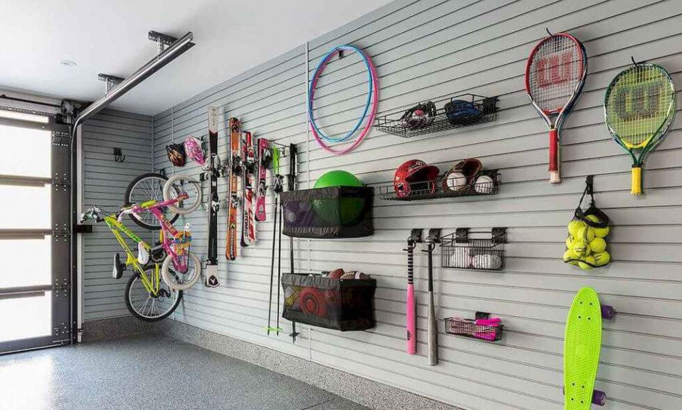 Smart förvaring i garage