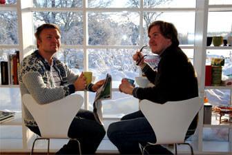 Ulf Mejergren och Anders Berenson
