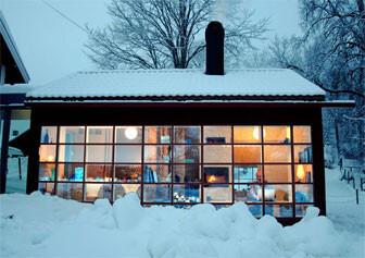 Spröjsade fönster