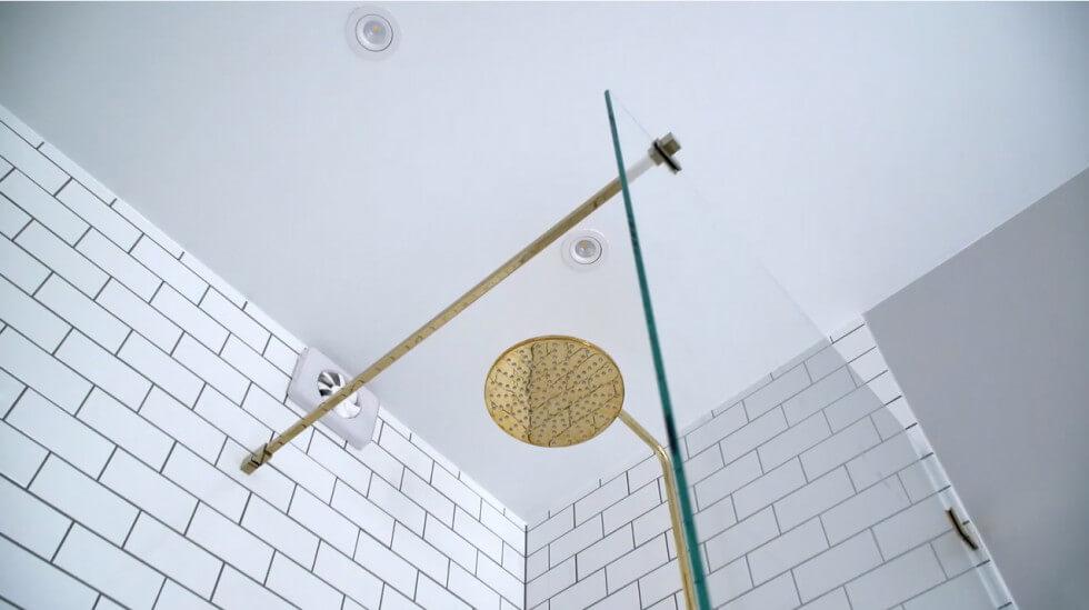 LED-spottar i badrum