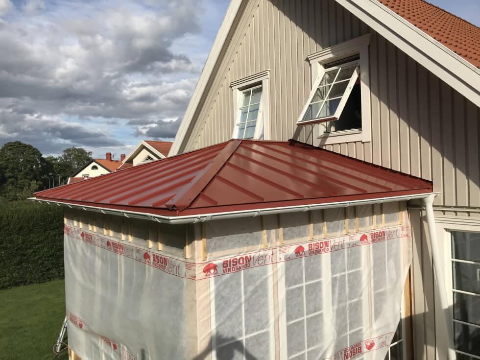 Färdiglagt tak
