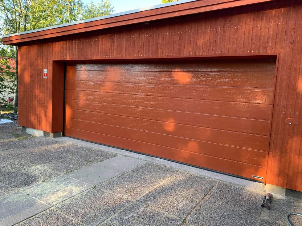 Renoverat garage