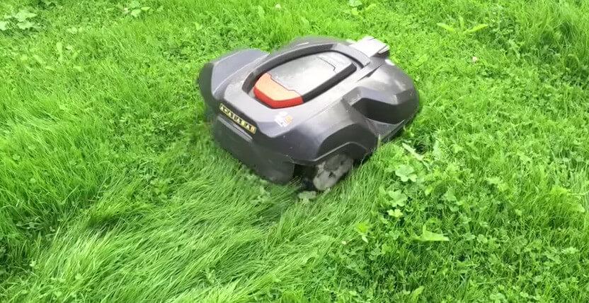 Robotgräsklippare terrängegenskaper