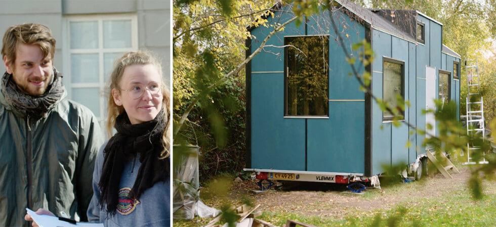 Andrea och Jonathans Tiny House