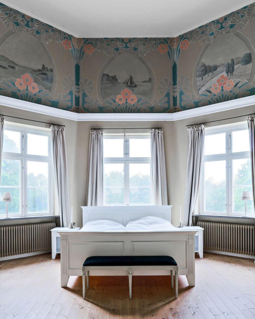 Sovrum i tornet