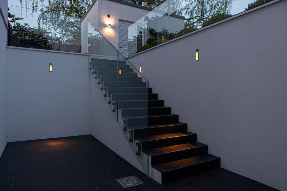 Belysning trappa