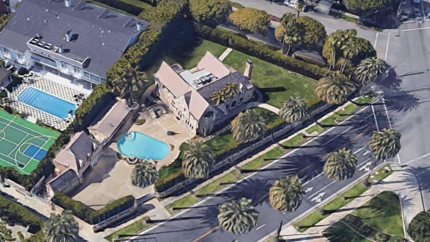 Trumps hus på Rodeo Drive