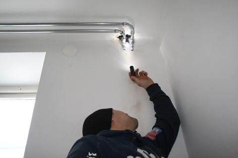 Installation av vattenburen el