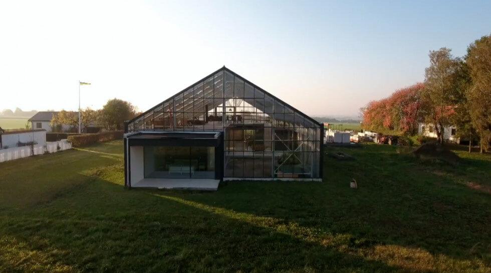 Växthusets gavel
