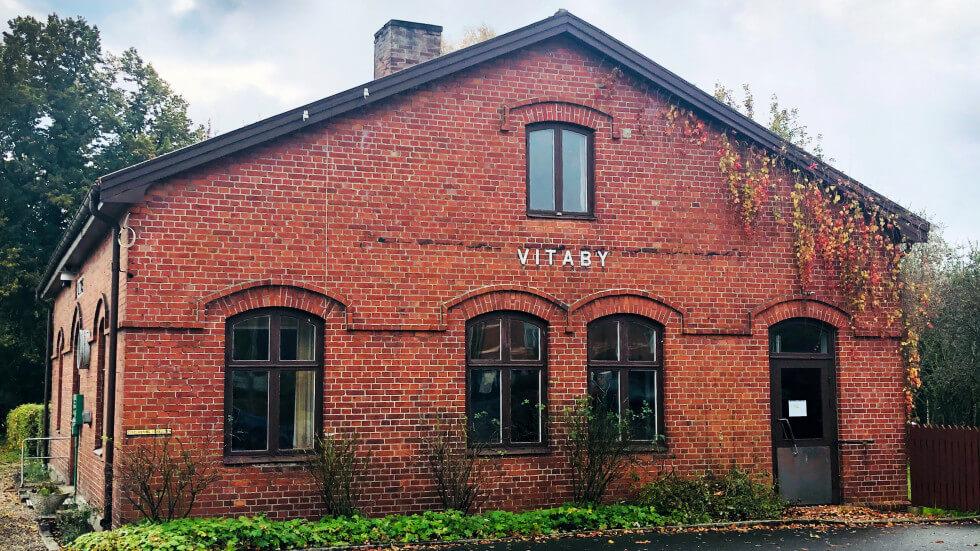 Vitaby stationshus