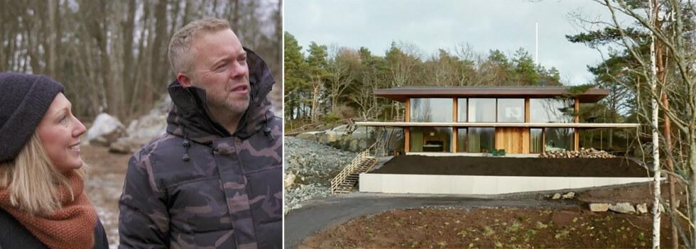 Lina och Henrik bygger hus i Hovås