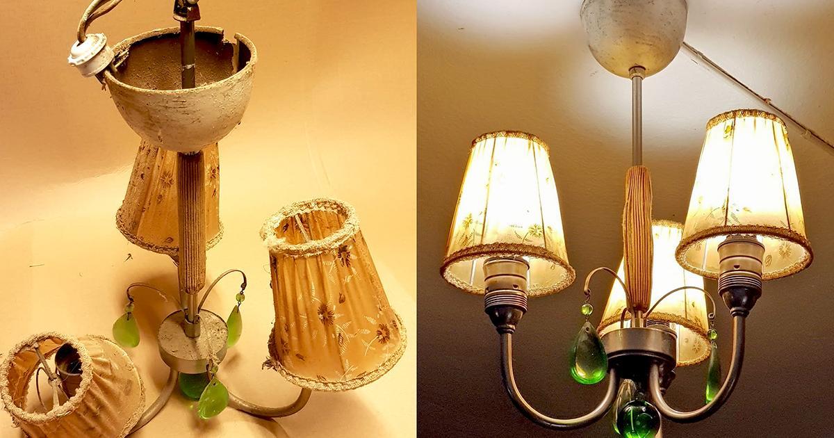 Byta elen i gammal lampa? | Byggahus.se