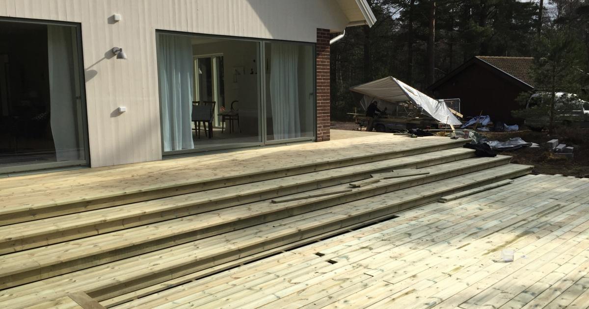 Kostnad bygga altan eller trädäck | Byggahus.se