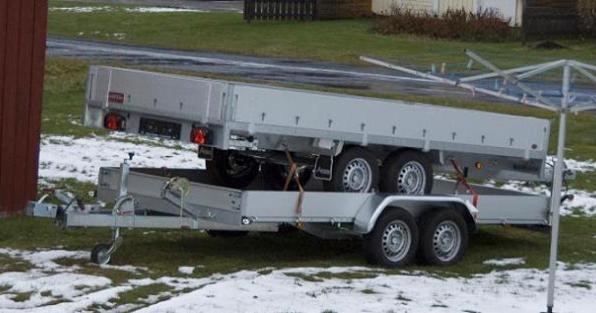 köpa släpvagn i tyskland