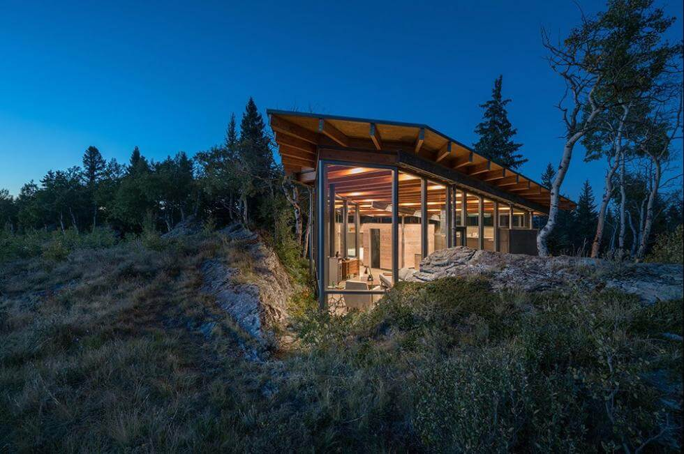 Rock House av Cutler Anderson Architects,