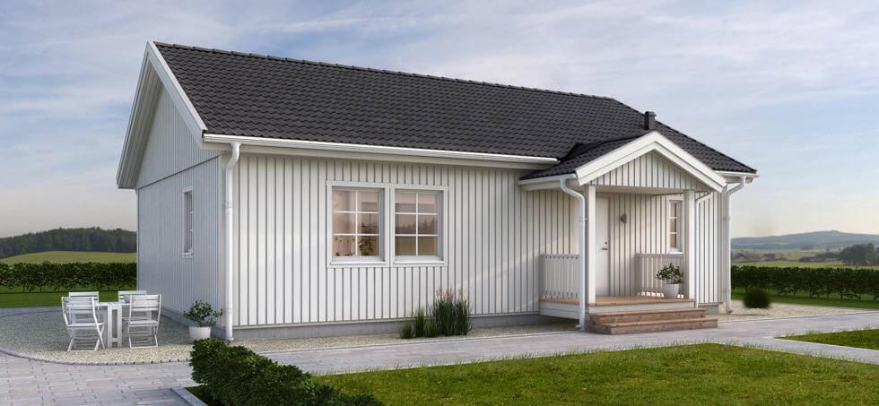 billiga nyckelfärdiga småhus