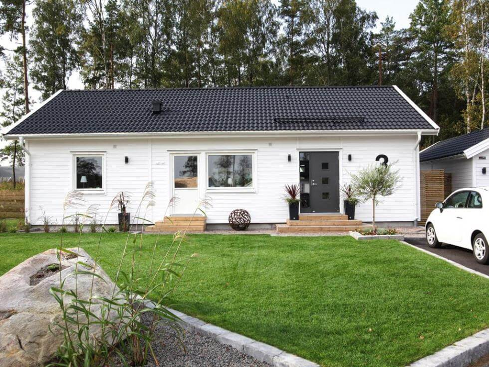 Billigaste nyckelfärdiga huset 2017