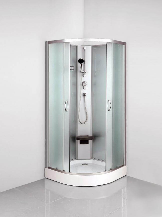 Välja duschkabin typerna, funktionerna och 10 exempel Byggahus se