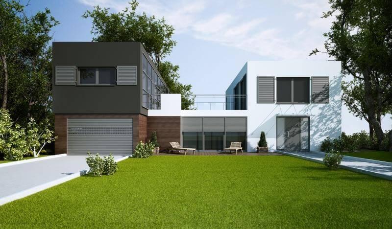 Aluminiumfönster kan vara kronan på verket i ett modernt boende.